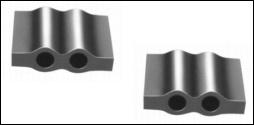500 Aluminiumplomben 12 x 15 mm, Form 66